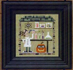 Bent Creek Haunted Guest House Secret Lair Counted Cross Stitch Pattern