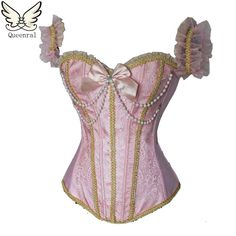 sexy lingerie gothic clothing corselet steampunk Pearl corset waist trainer corsets corset waist trainer corsets and bustiers $29.99 => Save up to 60% and Free Shipping => Order Now! #fashion #woman #shop #diy www.clothesgroup....
