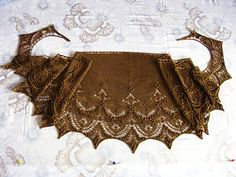 my 'Minarets and Lace' shawl, pattern by Mary-Anne Mace. I helped test-knit the pattern before it being published :) Boho Shorts, Shawl, Knit Crochet, Mary, Knitting, Pattern, Crafts, Fashion, Moda