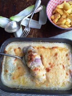 Italiaanse witlof ham en kaas