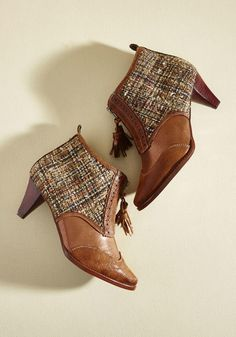 #ModCloth - #Irregular Choice Wants and Tweeds Heel in 42 - AdoreWe.com