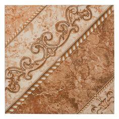 Southgate Beige Ceramic Tile - 18 x 18 - 100382415
