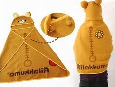 San-x Rilakkuma Relax Bear Cool Shawl Blanket