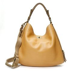 Sawyer Hobo via J. Crew in Bronzed Amber {best name for a color ever}