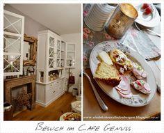 Ein Dekoherzal in den Bergen: BESUCH IM CAFE GENUSS Bergen, Ethnic Recipes, Food, Essen, Yemek, Meals