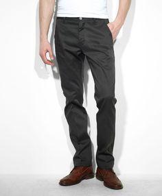 511 Slim Fit Sta-Prest Trousers - Pirate Black
