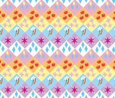 My Little Pony - Friendship is Magic! fabric by retropopsugar on Spoonflower - custom fabric