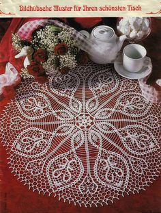"This crochet doily is made from white cotton thread No 40. The diameter is 56cm (aprox. 22""). The doily has no name so I desided to call it Significant Signs 2.    $40.00"