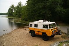 1970's Stey-Puch Pinzgauer - One of the ultimate off road vans.