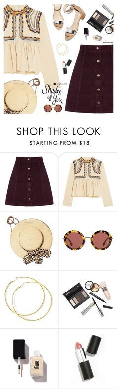 """""""Shades of You: Sunglass Hut Contest Entry"""" by the92liner ❤ liked on Polyvore featuring Oasis, Isabel Marant, Loeffler Randall, Charlotte Olympia, Miu Miu, Borghese, Sigma and shadesofyou"""