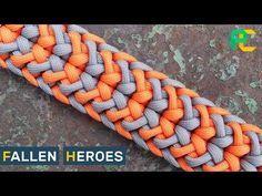 Fallen Heroes Paracord Bracelet - YouTube