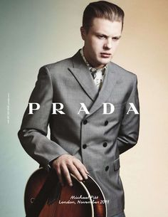 Michael Pitt - Prada ad