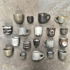I'm headed to for the Pentaculum residency this week, immersed in a studio with interesting, talented strangers to… Ceramic Tableware, Ceramic Cups, Ceramic Art, Pottery Mugs, Ceramic Pottery, Earthenware, Stoneware, Ceramic Studio, Tea Bowls