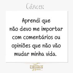 #signos #zodíaco #astrologia #câncer #frases #pensamentos