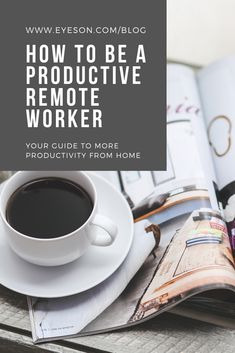 Working remotely isn't just a concept of the future - it is already happening. But how productive are remote workers really? Productivity, Remote, Concept, Change, Future, Tips, Blog, How To Make, Future Tense