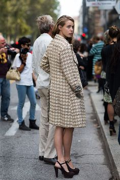 The sartorialist #women #winter #fashion #design