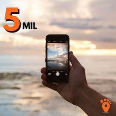 Oba!! Nossa comunidade de viajantes não para de crescer! Agradecemos aos mais de 5.000 seguidores que nos acompanham aqui no instagram! Vamos viajar e colocar os pés no mundo pessoal! #blogdeviagem #comospesnomundo #dicadeviagem #experiencetheworld #instatravel #picoftheday #queroviajar #travelblogger #travelgram #traveling #viagem #viagens #viajando #viajar #viajarfazbem #5mil #earthawesome #awesome_photographers #exploringglobe #travelslifee#exploreheaven #InspiredByYou #wowplanet…
