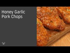 // Summary This video is one of our favorite pork recipes, the Honey Garlic Pork Chops! Pork Recipes, Cooking Recipes, Sauce Au Miel, Honey Garlic Pork Chops, Chicken, Food, Youtube, Pork Chops, Cooking