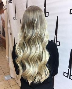 "31 Likes, 1 Comments - Sarah Mathews (@sarahgmathews) on Instagram: ""I'm so happy I get to do this blonde babes hair! #iamgoldwell color, styled using #arrojonyc…"""