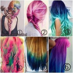 you choose which one? I chose the second picture, the pink hair style *.*