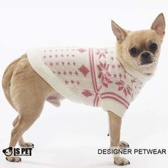Cain Sweater : Small(S) - $41.36  Medium(M) - $42.68  Large(L) - $43.34  Extra Large(XL) - $48.18  www.ispetfashion.com