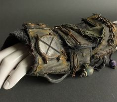 Fallout Wrist Protectors Post Apocalyptic Wrist by WastedCouture
