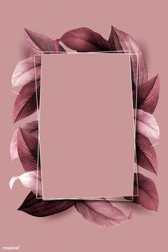 premium illustration of Rectangle foliage frame on pink Rectangle foliage frame on pink background vector Flower Background Wallpaper, Framed Wallpaper, Pastel Wallpaper, Cute Wallpaper Backgrounds, Flower Backgrounds, Aesthetic Iphone Wallpaper, Aesthetic Wallpapers, Cute Wallpapers, Iphone Backgrounds
