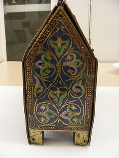 Reliquary Casket, 1185-95.    Reminds of a creature by Jim Woodring