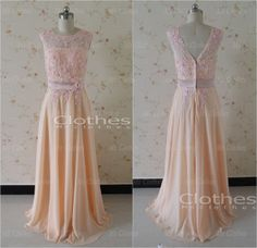 Cheap Custom Made Aline Lace Prom Dress Long by MsClothes on Etsy, $176.99