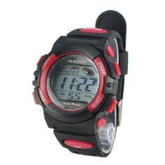 Niceshop® Fashion Multi-function Hi-power Solar Power Energy 3ATM Waterproof Sports Watch(Red) - http://www.yourglt.com/niceshop-fashion-multi-function-hi-power-solar-power-energy-3atm-waterproof-sports-watchred/?utm_source=PN&utm_medium=http%3A%2F%2Fwww.pinterest.com%2Fpin%2F368450813235896433&utm_campaign=SNAP%2Bfrom%2BGreening+Your+Home