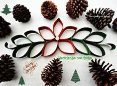 12 adornos de Navidad para hacer con papel y cartón