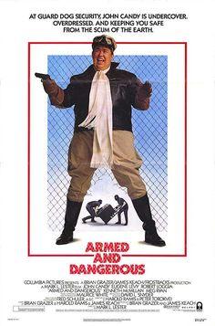 Armed and Dangerous (1986) Stars: John Candy, Meg Ryan, Eugene Levy, Kenneth McMillan, Meg Ryan, Brion James, Jonathan Banks ~ Director: Mark L. Lester