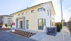 Das Prestige 1 vom Fertighaushersteller Allkauf ist das ideale Haus für Bauherren mit mehr Anspruch an Exklusivität.