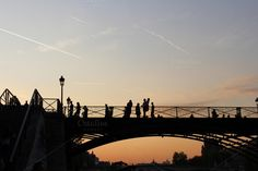 Pont des Arts by Avelina on @creativemarket