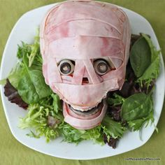 Meat Head | 27 Appetizers For Your Halloween Party That Are Hilariously On Theme