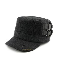 2014 new design fashion bush-rope thickening Spring hat cadet cap epaulette buckle  military hat  for men/women free shipping $18.34