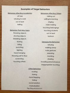 This Is the Perfect Way to Track Student Behavior - Enjoy Teaching with Brenda Kovich Behavior Tracker, Behavior Contract, Classroom Behavior Management, Behavior Plans, Student Behavior, Behaviour Management, Behavior Charts, Behavior Log, Behavior Rewards