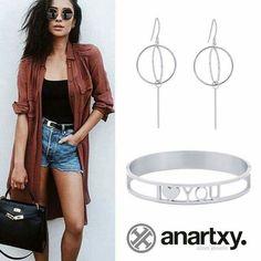 Enamórate de anartxy  #anartxy #JoyasEnAcero #JóiasEmAço #SteelJewel #BijouxEnAcier #estilo #style #woman #love  www.anartxy.com