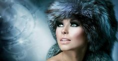 Photo about Fashion. Beautiful Girl in Fur Hat. Image of elegant, gray, black - 27610171 Capricorn Women, Fur Fashion, Fashion Tips, Gifs, Anna, Fashion Wallpaper, Russian Beauty, Illustrations, Fashion Essentials