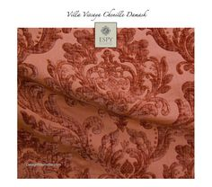 Villa Viscaya Chenille Damask Fabric. This color is projected to be one of the popular in 2015.
