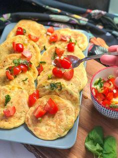 Vegan Vegetarian, Vegetarian Recipes, Breakfast Snacks, Greek Recipes, Bruschetta, Vegetable Pizza, Side Dishes, Food And Drink, Cooking