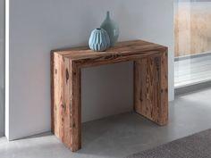 Téléchargez le catalogue et demandez les prix de Glass | table console en bois By ozzio italia, table console extensible rectangulaire en bois