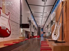 Fender Musical Instruments Headquarters by Ware Malcomb | Interior Design