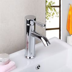 Basin Faucet Torneira New Chrome Polished Plated Water Tap Bathroom Wash Basin 8340/5 Deck Mounted Sink Faucets,Mixers Tap #Affiliate