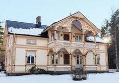 Bildresultat för gamla vackra trähus