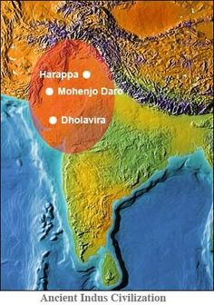 Indus culture seems to have gradually spread from west to east, with sites towards central and southern India flourishin Bronze Age Civilization, Indus Valley Civilization, Cradle Of Civilization, History Of India, World History, Ancient History, Nasa History, Harappan, Mohenjo Daro