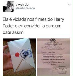 Eu casava, menina se vc não casar com ele, eu caso... Harry Potter Drawings, Harry Potter Hermione, Harry Potter Love, Harry Potter Universal, Harry Potter World, Harry Potter Memes, Draco Malfoy, Hogwarts Mystery, Geek Humor