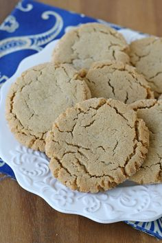 This Chewy Peanut Butter Cookie Recipe will remind you how good a classic cookie can be!! Glorious Treats
