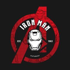 Check out this awesome 'Iron+Avenger' design on Iron Man Fan Art, Iron Man Logo, Iron Man Avengers, Marvel Avengers, Marvel Heroes, Logo Super Heros, Iron Avenger, Marvel Universe, Iron Man Wallpaper