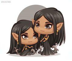 Cerridwen and Nuala